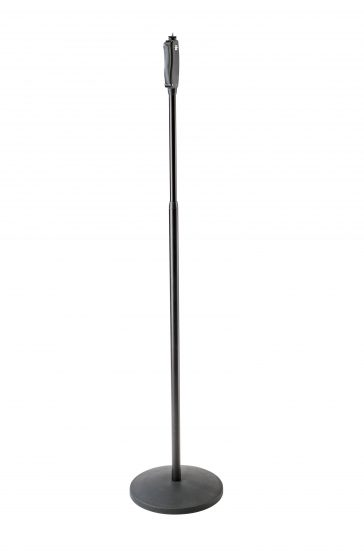 Microphone stand, round base