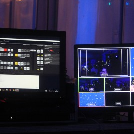 Large video screens
