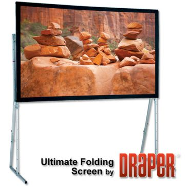 Draper Ultimate Folding Screen 16:9/16:10, 3,9m bredd