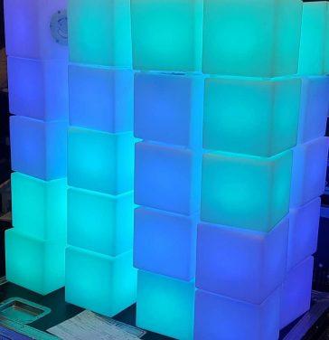 LED-kub 15cm