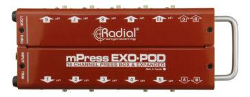 Radial Exo-pod (Pressbox)